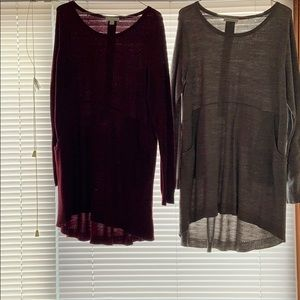 Bundle- 2 sweater dresses